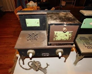 "Early  Child's ""Little Cook"" Electric Range"