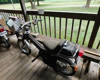 Two Nice Honda Urban Express 50 Mopeds(Barn Finds)