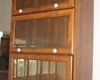 Four shelf attorneys bookcase.