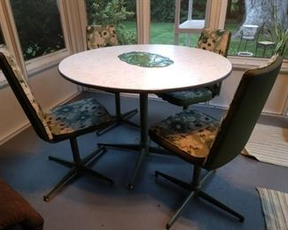 Awesome vintage formica dining set