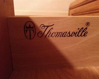 Thomasville brand inside drawer