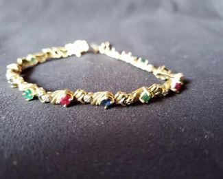 14 karat gold bracelet https://ctbids.com/#!/description/share/171856