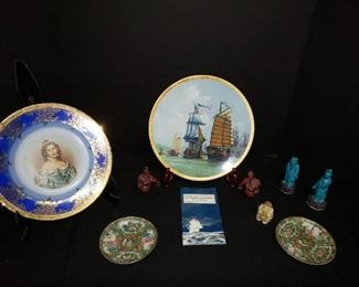 A passage to china collector's plate, statues and plates. https://ctbids.com/#!/description/share/171863