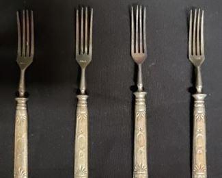 Antique Celestial Stahl forks https://ctbids.com/#!/description/share/171866