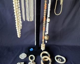 Beautiful beaded necklaces and accessories https://ctbids.com/#!/description/share/171877