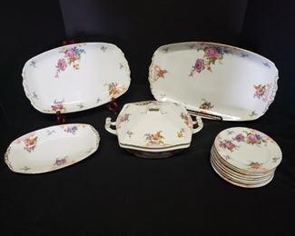 Epiag Royal, Bridal Rose pattern https://ctbids.com/#!/description/share/171895