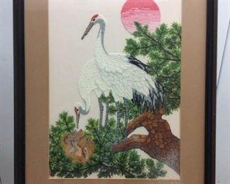 Japanese Bunka of Crane Family https://ctbids.com/#!/description/share/171919