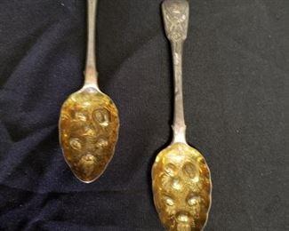 Set of Two Berry Spoons https://ctbids.com/#!/description/share/171952