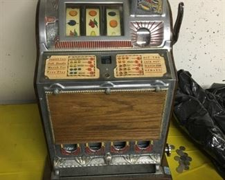 1920s Mills 1776 NICKEL SLOT MACHINE