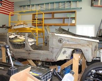 Partially Restored VW Thing
