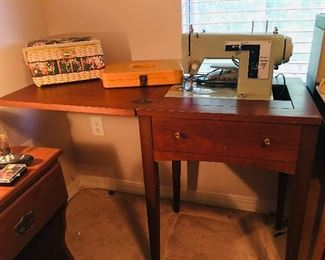 Kenmore Sewing Machine & Table