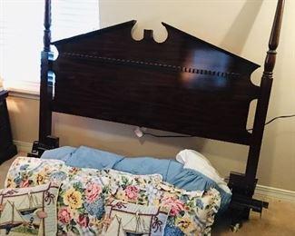 Full Size Frame & Bedding