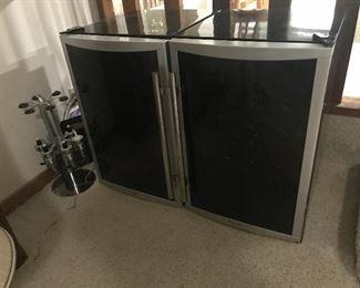 two wine fridges