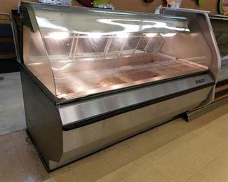Alto Shaam hot food case