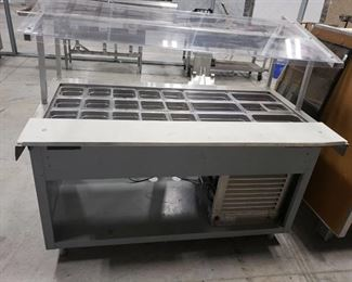 Refrigerated prep line