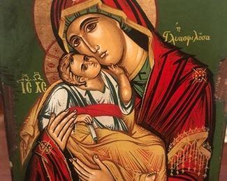 Hand Made Religious Icon