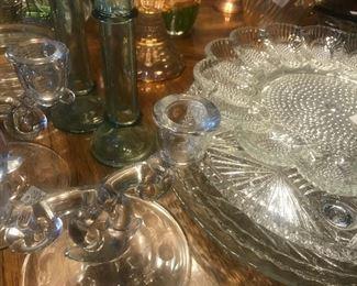 Glass Egg Plate