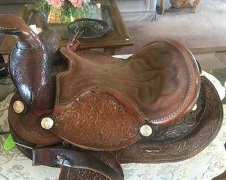 Barrel Roping Saddle