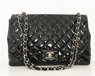 Lot 287 Chanel Patent Leather Bag