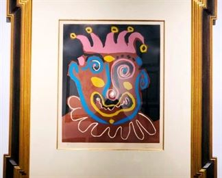 Lot 248 Pablo Picasso Le Vieux Roi Original Color Lino Cut