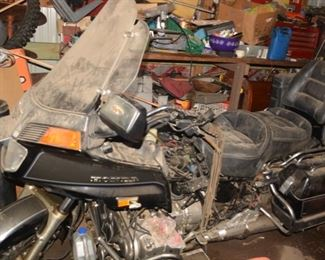 Honda Goldwing Motorcycle, 9000 miles