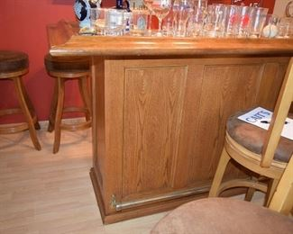 Bar and Bar Stools