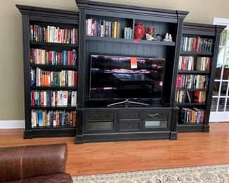 3 piece entertainment - bookcase