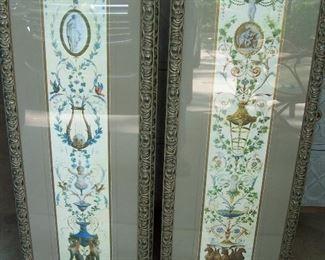 Italian Panels I & II Prints