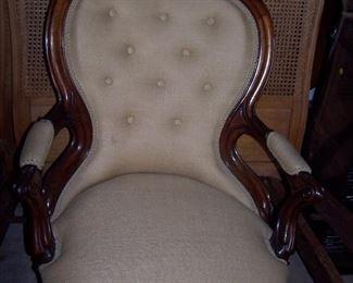 Vintage LowBoy Chair