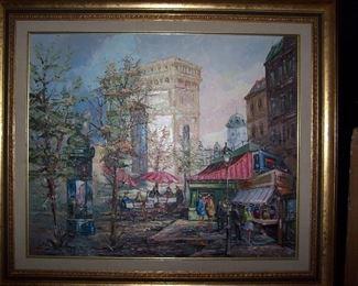 Arc De Triomphe de l'Etoile Painting