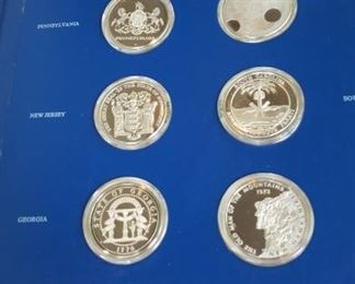Sterling Silver proof set