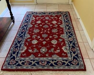 Beautiful red rug
