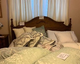 King size bed linens
