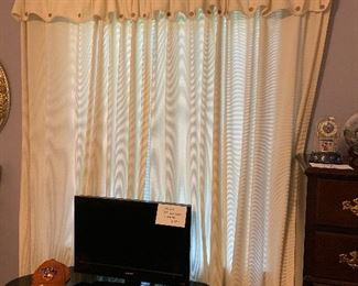 Curtains too!