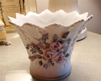 Lefton China Vase