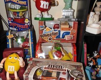 M & M Dispensers...fun!!