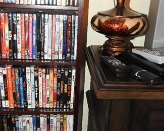 Lots of DVDs, some CDs