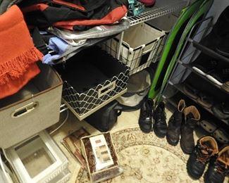 Shoes, Bins