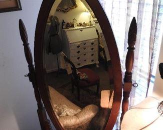 Wonderful Cheval Mirror