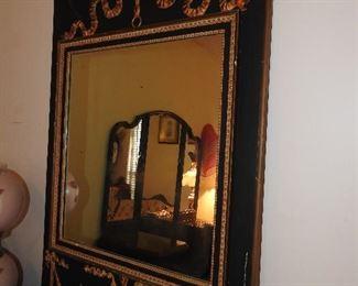 Unusual Antique Mirror
