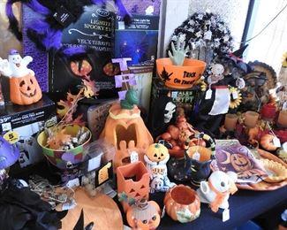 Fun Halloween Stuff too!!  Lots unused in boxes!!