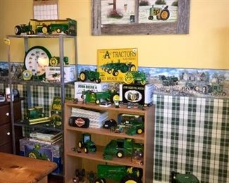 John Deere tractor collectibles