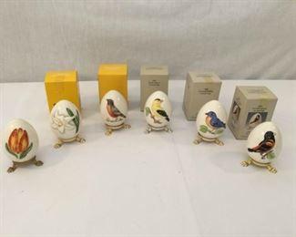 Goebel Annual Eggs 1984-1989 6 Piece https://ctbids.com/#!/description/share/171518