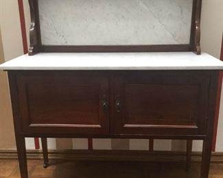 Antique Wash Stand Cabinet https://ctbids.com/#!/description/share/171525