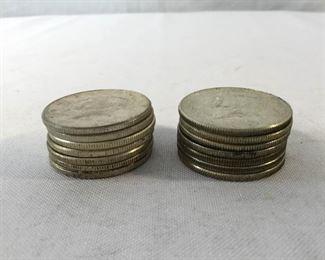 U.S. Silver Kennedy Half Dollars 14 Piece https://ctbids.com/#!/description/share/171537