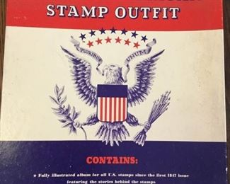 Three albums of American stamp collecting albums https://ctbids.com/#!/description/share/171563