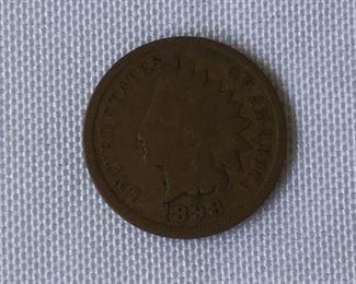 12 Pc. Antique U.S. Pennies https://ctbids.com/#!/description/share/171569