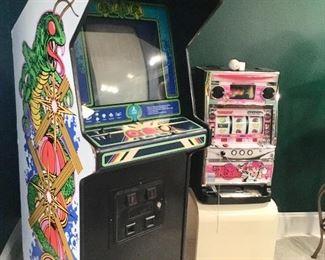 Vintage Atari Centipede arcade game