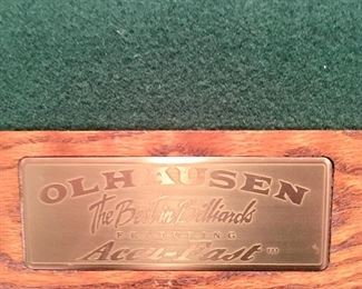 Olhausen Slate pool table