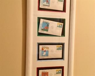 Peter Max collectible stamped envelopes